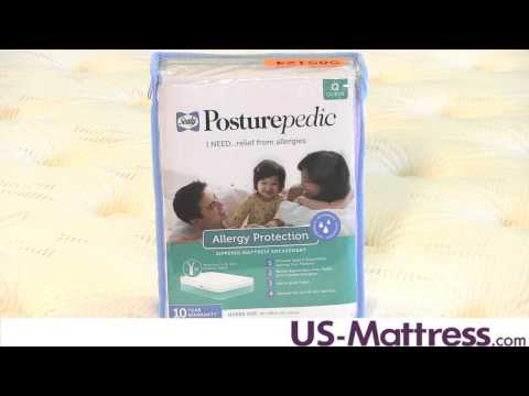 Sealy Posturepedic Allergy Protection Mattress Encasement by DOWNLITE