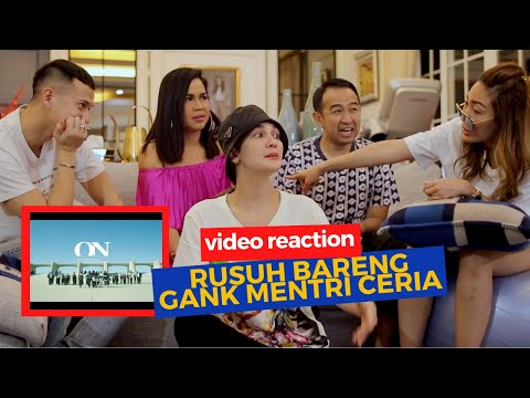 LUNA MAYA & GANK MENTRI CERIA VIDEO REACTION BTS (방탄소년단) 'ON' Kinetic Manifesto Film : Come Prima