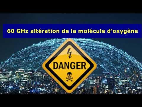 La 5G à une fréquence de 60 Ghz peut altérer la molécule d'oxygène ?