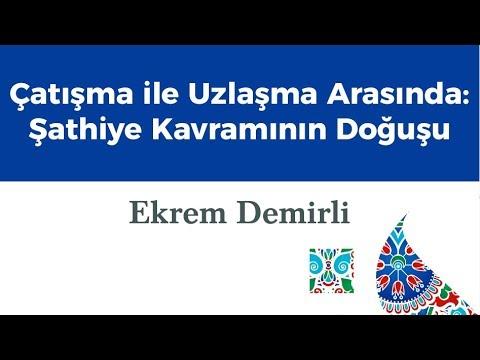 İSAR Tasavvuf Atölyesi - Prof. Dr. Ekrem Demirli
