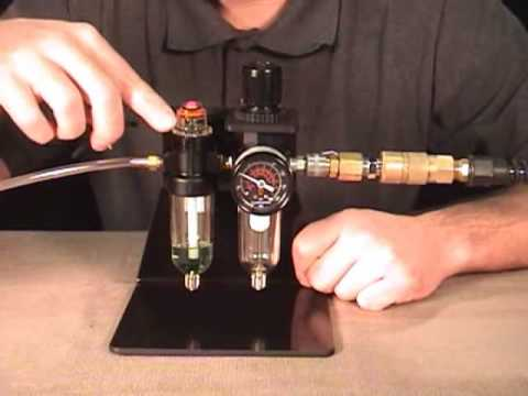 Filter Regulator Lubricator For Engraving Youtube