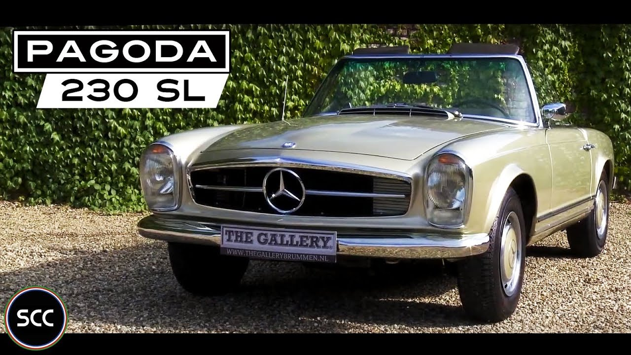 hd scc mercedes w113 230 sl pagode 1966 small test drive probefahrt giro di prova youtube. Black Bedroom Furniture Sets. Home Design Ideas