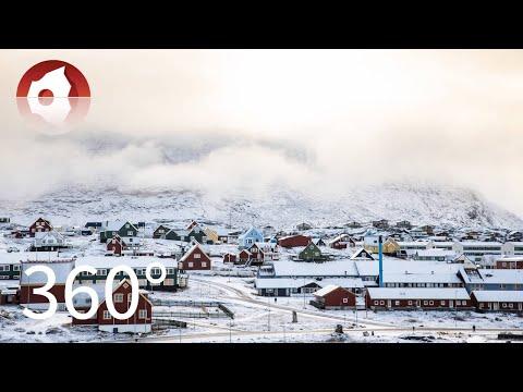 360º around Nuuk by car