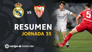 Resumen de Real Madrid vs Sevilla FC (2-2)