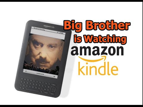 Amazon.com Remotely Deletes e-Books From Kindle Readers - Poof!  GONE!  Down the Memory Hole!