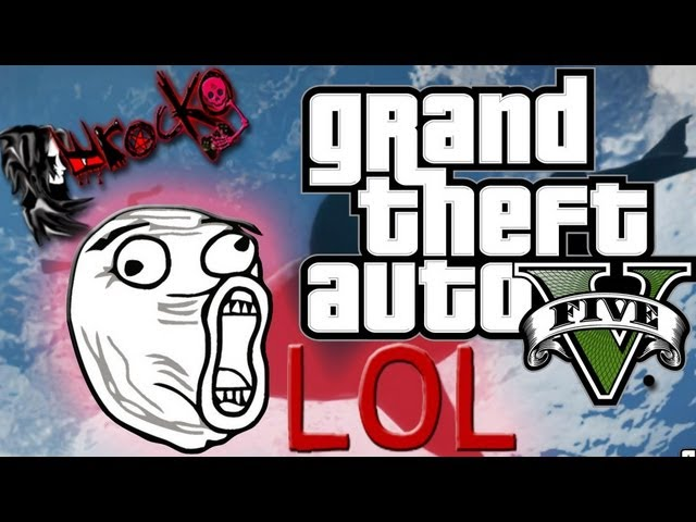 Gran Theft Auto V Caidas Fails Muertes Graciosas lol - Funny Moments GTA V XD ᴴᴰ Videos De Viajes