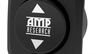 AMP Research toggle switch must have with steps install
