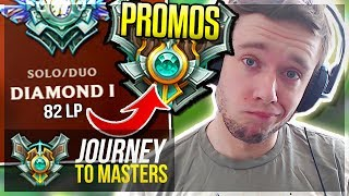 masters or back to d2 time is running out journey to masters   league of legends