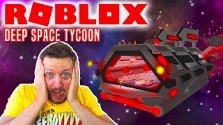 MIT EGET RUMSKIB I ROBLOX! - Roblox Deep Space Tycoon Dansk