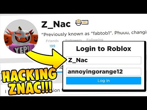 Build a Boat HACKING ZNAC!!! ( What's in his SAVES?! )