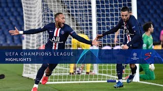 UEFA Champions League | Paris Saint-Germain v Borussia Dortmund | Highlights