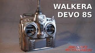 Walkera DEVO 8S Transmitter with Deviation Firmware - Multiple 2.4GHz Protocols!