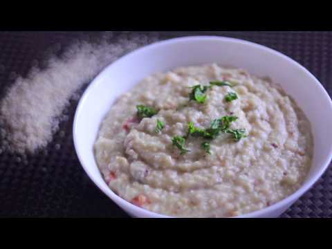 Healthy Millet Porridge | Savoury Porridge recipe | Easy breakfast recipe | Cookkurry