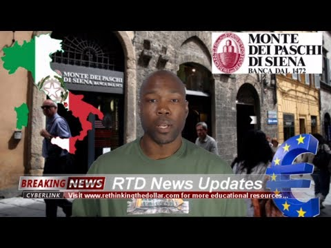 Monte dei Paschi - World's Oldest Bank Bailed Out (545 Years Old)