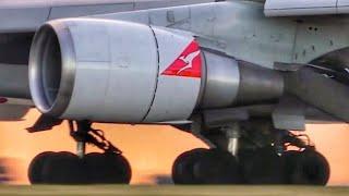 50.. 40.. 30.. 20.. 10.. Touchdown   Melbourne Airport Plane Spotting