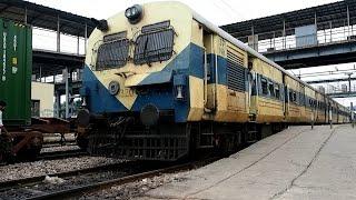2016/07/29 【インド国鉄】 デリーEMU シャクルバスティ駅