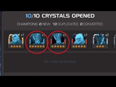 The Best Community Pulls Sent To Me In The Warlock Featured Crystals