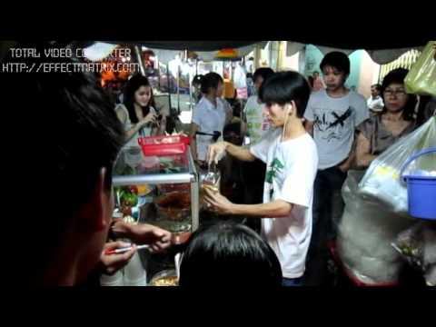 Bánh tráng trộn 18k ở đường Hoà Hảo - thực hiện vitamIn - Cao đẳng PTTH 2
