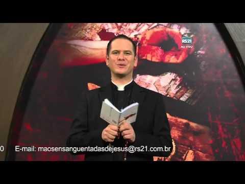 Terço Mãos Ensanguentadas de Jesus - 10/03/2016