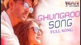 Ghungroo Song - War | Hrithik Roshan, Vaani Kapoor | Vishal and Shekhar ft, Arijit Singh, Shilpa Rao