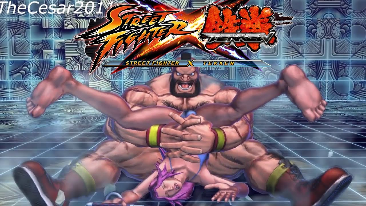 Girls in street fighter have sex 2