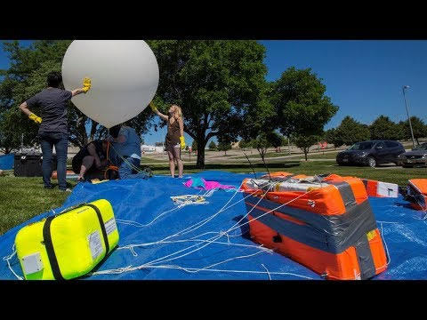 NASA: Students study eclipse with altitude balloons.