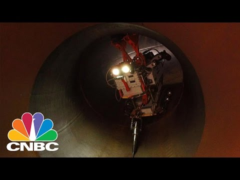 High-Tech Robots Can Help Prevent Oil And Gas Pipeline Spills | CNBC