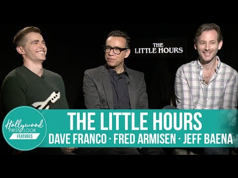 Dave Franco, Fred Armisen & Jeff Baena Behindthes SECRETS of 'The Little Hours'