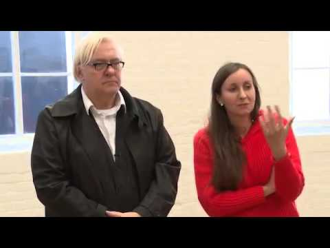 Eva Kotatkova and Brian Catling in conversation with Sally Shaw at Modern Art Oxford