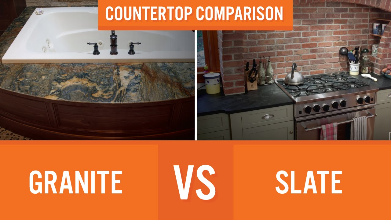 Granite Vs Slate Countertop Comparison