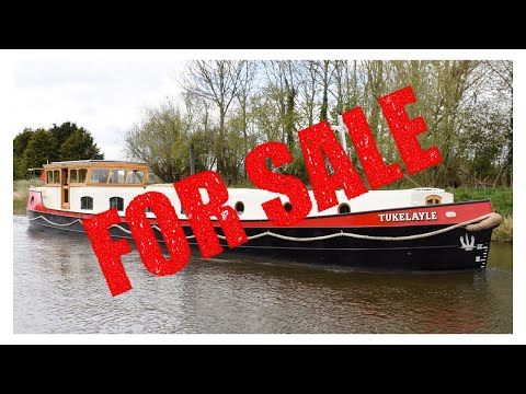 For Sale - Stunning Newly Completed Dutch Barge