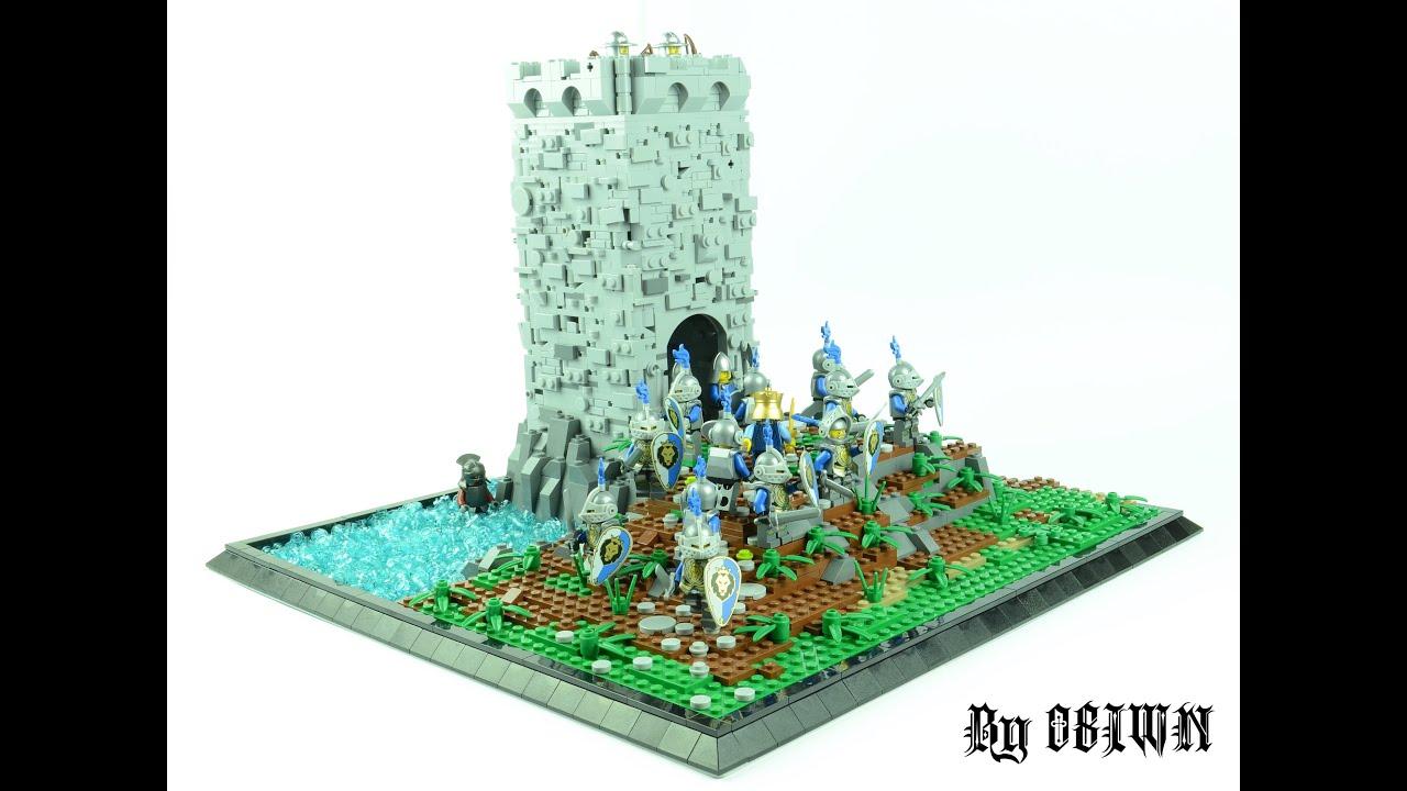 lego castle moc instructions