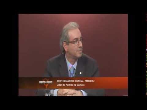 Eduardo Cunha no programa Frente a Frente | Rede Vida