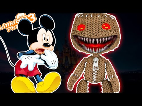 Mickey & *CraZy* SackBoy | LittleBigPlanet 3