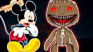 Mickey & *SP00KAY* Sacboy   LittleBigPlanet 3