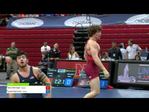 74 2nd Place - Alex Dieringer (TMWC) vs. Isaiah Martinez (TMWC)