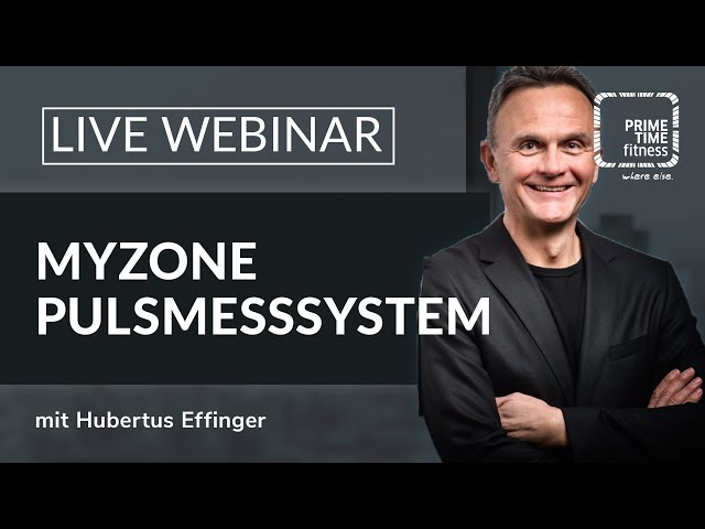 PRIME TIME Webinar: MyZone Pulsmessung