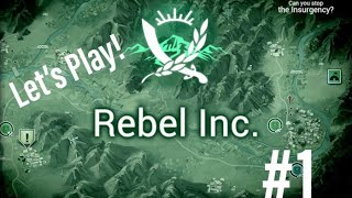 Rebel Inc IOS Tutorial 1 Campaign Game Play Civilian Mission no commentary let's play strategy new