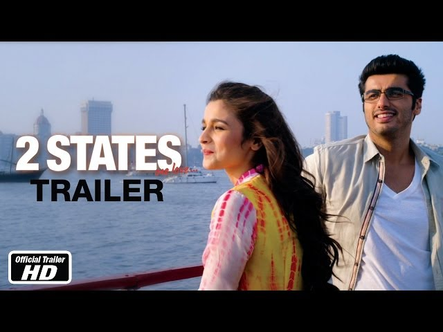 2 States - Official Trailer - Arjun Kapoor, Alia Bhatt Travel Video