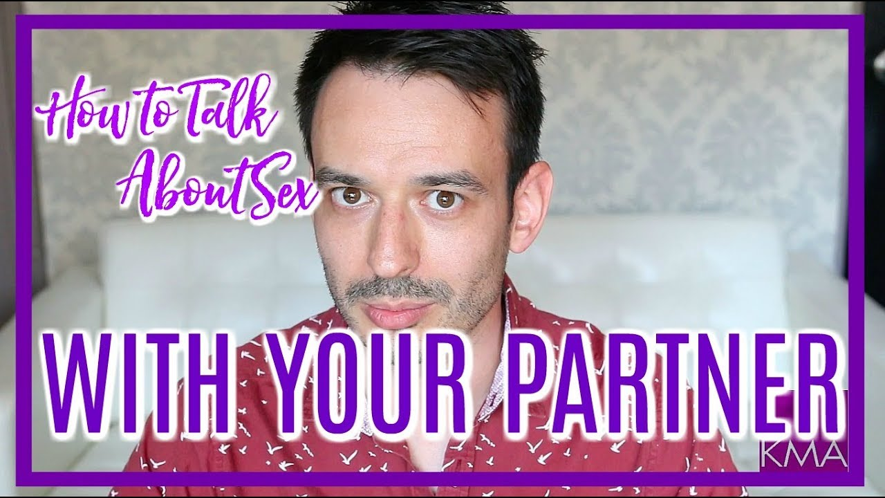 Talking about sex to your partner