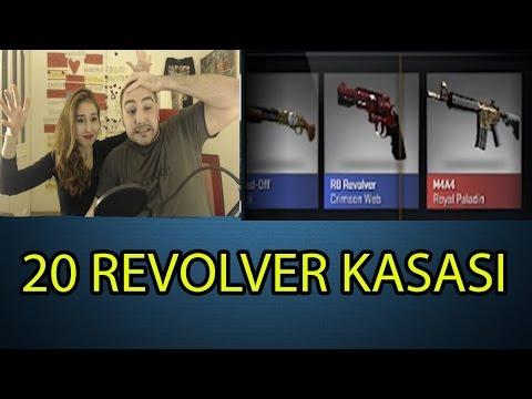 CSGO 20 tane Revolver Kasa Açılımı ! Oley be Gaben be !