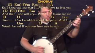 If I Fell (The Beatles) Banjo Cover Lesson with Chords/Lyrics