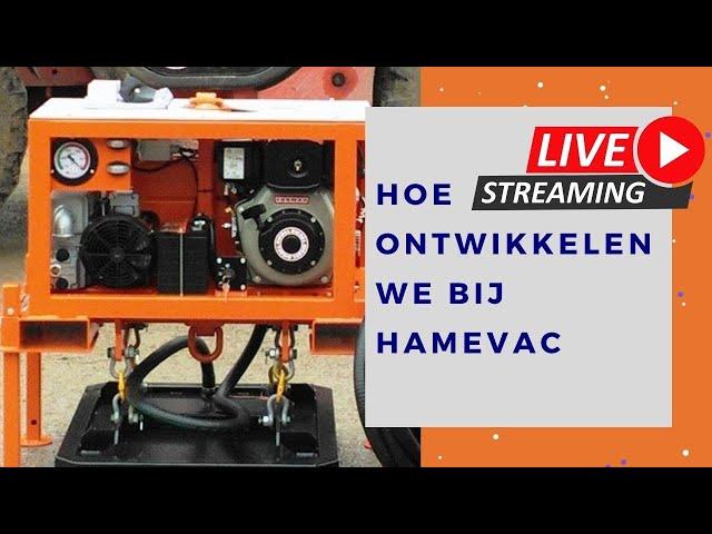 Zo ontwikkelen we bij Hamevac