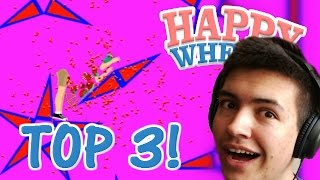 Happy Wheels - EPIC MINI GAME CHALLENGE!! - Happy Wheels Top 3 Levels
