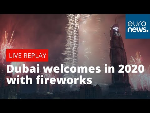 United Arab Emirates welcomes in 2020 with celebratory fireworks