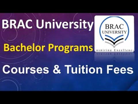 BRAC University Courses & Tuition Fees   Www.bracu.ac.bd