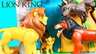 Disney The Lion King | Kion Rescues Simba From Scar At Lion Guard Training Lair Playset