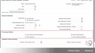 Payables | Creating a Payment Process Request Template video thumbnail