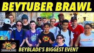 Beytuber Brawl : My First WBO Beyblade Burst Tournament Battles
