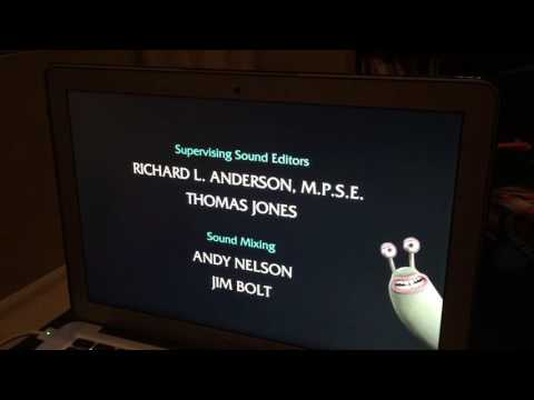 Flushed Away end credits to Sesame St song